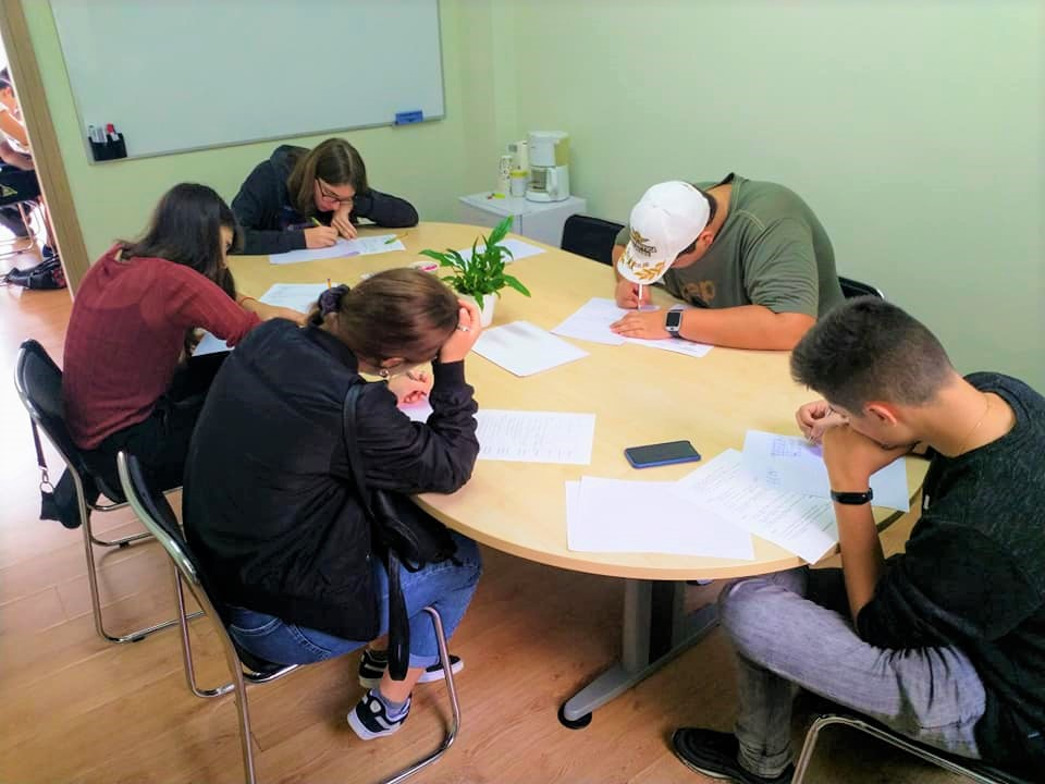 group studying